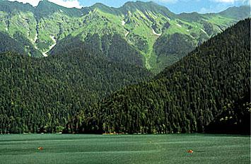 Природа Абхазии уникальна
